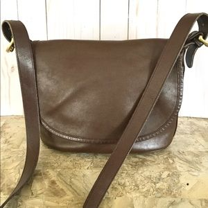 Coach crossbody brown bag